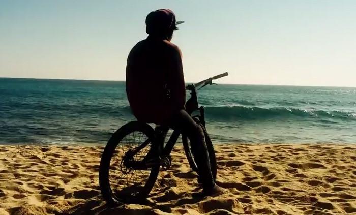 Azonic rider Bernd Winkler in Barcelona