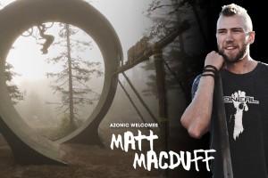 Azonic team rider Matt MacDuff